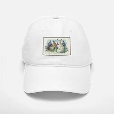 Vintage Easter Bunnies Baseball Baseball Cap