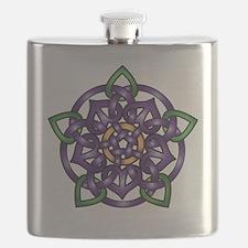 Sabines Purple Rose Flask