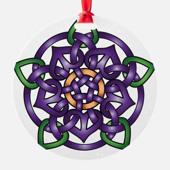 Sabines Purple Rose Ornament
