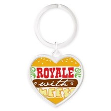 royale Heart Keychain