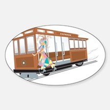 Express Cable Car Decal