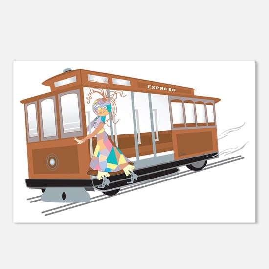 Express Cable Car Postcards (Package of 8)