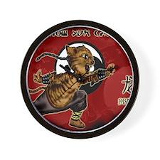 KUNG FU KITTY-CHOW YUN CAT-DRAGON Wall Clock