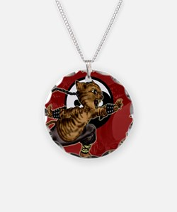 KUNG FU KITTY-CHOW YUN CAT-D Necklace