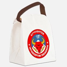 87th_interceptor_squadron Canvas Lunch Bag