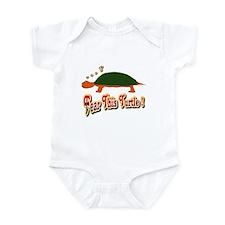 Fear This Turtle !? Infant Bodysuit