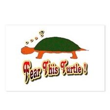 Fear This Turtle !? Postcards (Package of 8)
