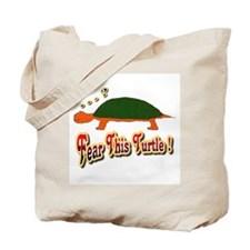 Fear This Turtle !? Tote Bag