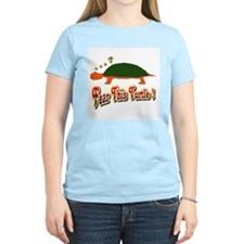 Fear This Turtle !? Women's Pink T-Shirt