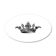 Vintage Crown Wall Sticker