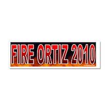 TX ORTIZ Car Magnet 10 x 3