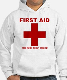 zombiefirstaid4.gif Hoodie