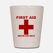 zombiefirstaid4.gif Shot Glass