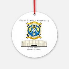 FSAv3_God_Tshirt Round Ornament
