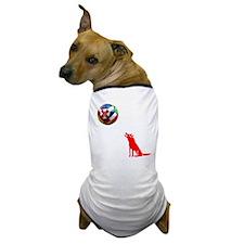 Howling At The Moon Dog T-Shirt