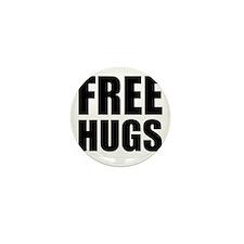 Free Hugs W Mini Button