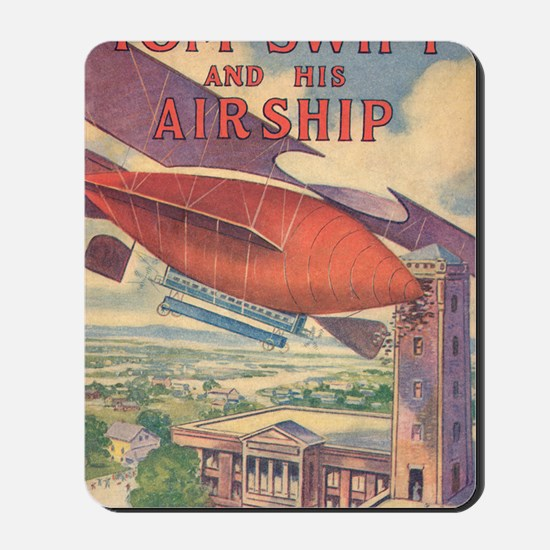 Tom Swift and his Airship Mousepad