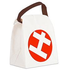 Helppox logo Canvas Lunch Bag