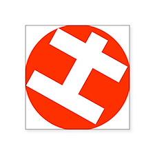 "Helppox logo Square Sticker 3"" x 3"""