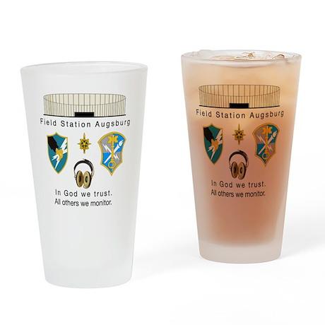 FSAv2_God_Tshirt Drinking Glass