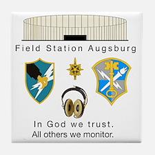 FSAv2_God_Tshirt Tile Coaster
