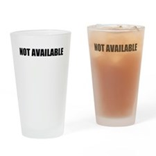 Not Available W Drinking Glass