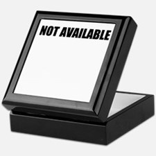 Not Available W Keepsake Box