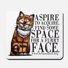 aspire_to_acquire_CLRLogo Mousepad