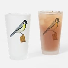 great tit Drinking Glass