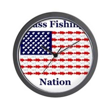 bass nation Wall Clock
