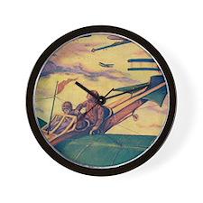 Tom Swift and Sky Racer Wall Clock