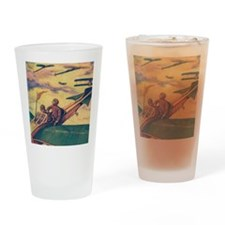 Tom Swift and Sky Racer Drinking Glass