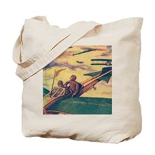 Tom Swift and Sky Racer Tote Bag