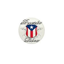 puerto rico b Mini Button