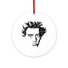 Kierkegaard_k Round Ornament