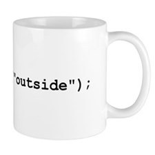 gotoAndPlay Outside Coffee Mug