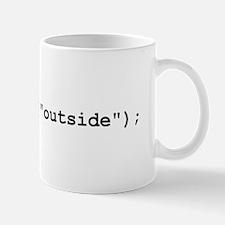 gotoAndPlay Outside Mug