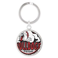 Bulldog-Reunion-Shirt Round Keychain