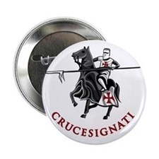 "10-crusader stich 2.25"" Button"