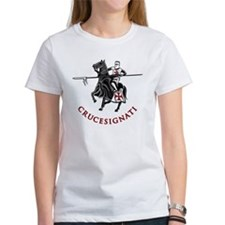 10-crusader stich Tee