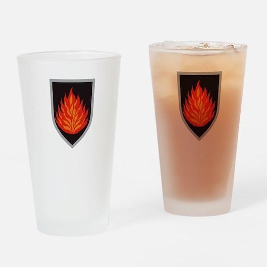 FamigliaDeiSantantoniariWhite.gif Drinking Glass