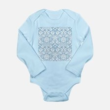 Blue Damask Body Suit