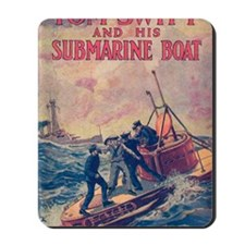 Tom Swift and his Submarine Boat Mousepad