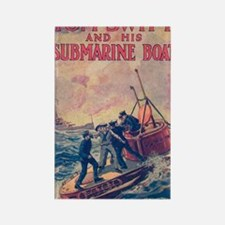 Tom Swift and his Submarine Boat Rectangle Magnet