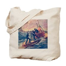 Tom Swift and his Submarine Boat 2 Tote Bag