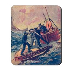 Tom Swift and his Submarine Boat 2 Mousepad