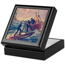 Tom Swift and his Submarine Boat 2 Keepsake Box