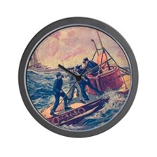 Tom Swift and his Submarine Boat 2 Wall Clock