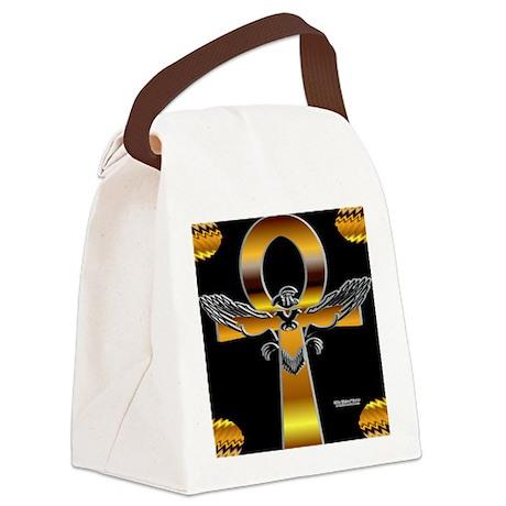 HeruAnkhPilllow Canvas Lunch Bag