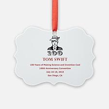 Tom Swift logo Ornament